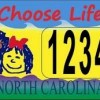 Federal Court: North Carolina 'Choose Life' License Plate Unconstitutional