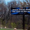 Trucker Buying Bible Billboards Across Wisconsin to 'Help Save People From the Sins of the World'