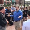 'Praise Darwin!' UConn Professor Goes Ape During Campus Preaching