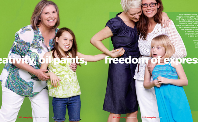 JC Penney Features Lesbian 'Couple' in May Catalog