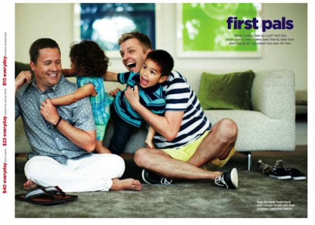 JC Penney Prints Homosexual Father's Day Ad