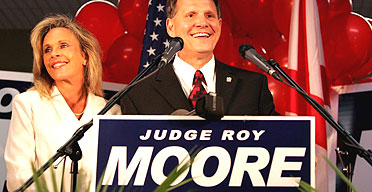 Ten Commandments Judge Roy Moore Still Leading Polls as Alabama Supreme Court Race Tightens