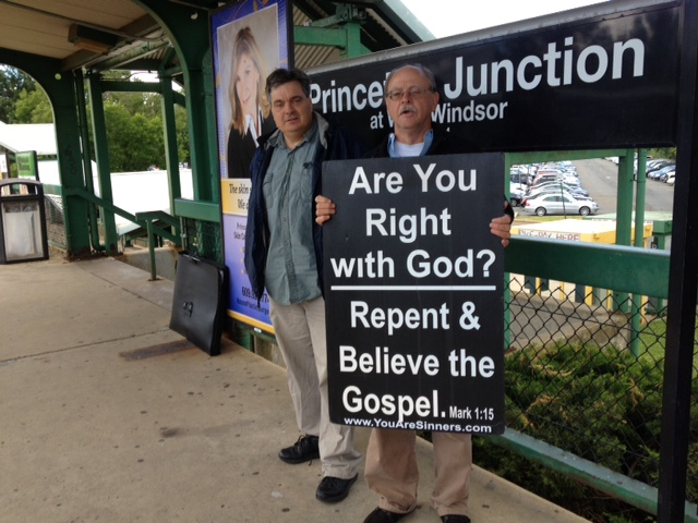 Evangelists Jailed for Preaching at New Jersey Train Station, Police Cite Terroristic Concerns