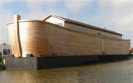 Life-Sized Noah's Ark Built in Netherlands