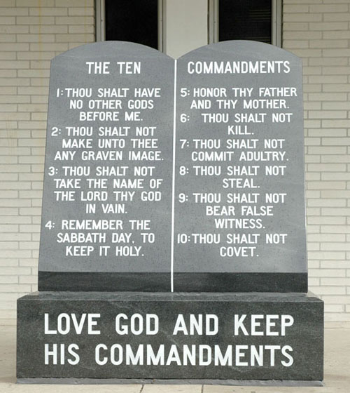 Atheist Scared Away By Ten Commandments Monument Loses Lawsuit