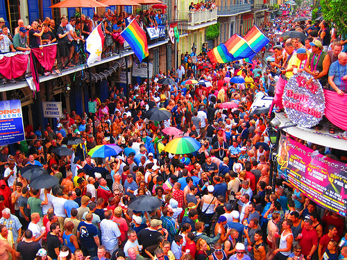 Thousands of Homosexuals, Crossdressers Take to the Streets to Celebrate 'Decadence' in New Orleans