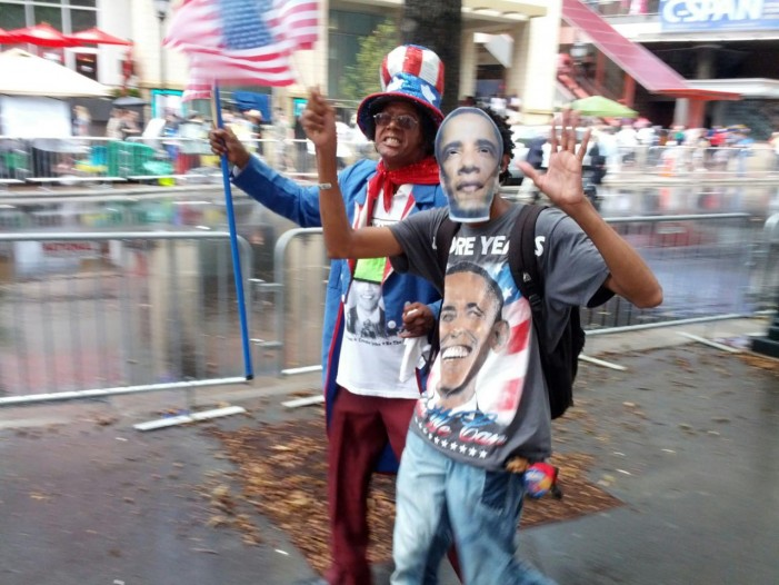 Idolatry at the DNC: Vendors Portray Obama as Messianic 'Fulfillment of Prophesy'