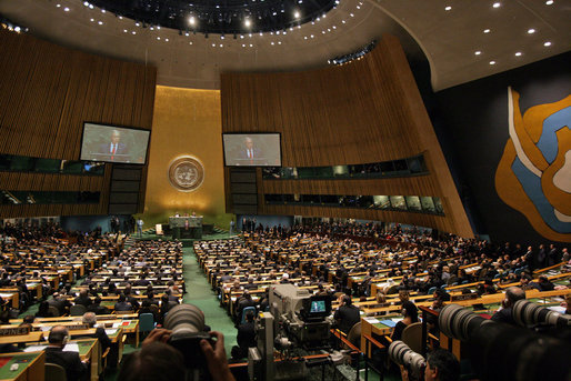 Obama to UN General Assembly: 'Intolerance Has No Place Among Our United Nations'
