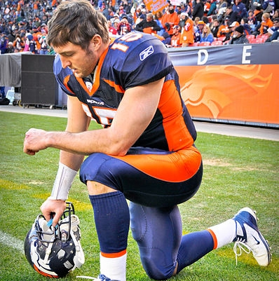 'Tebowing' Prayer Pose Officially Trademarked