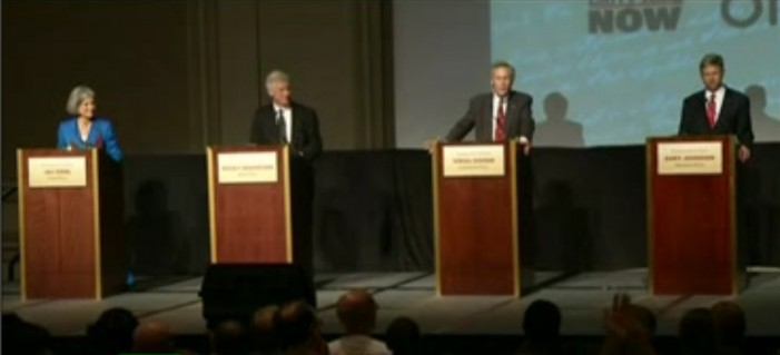 Third Party Presidential Debate Talks Drugs, Homosexuality and the Constitution