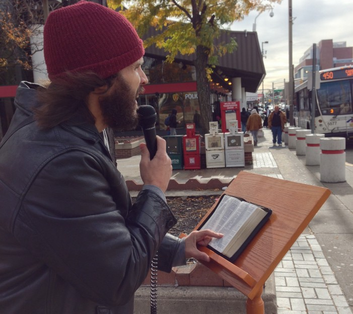 Evangelists Take the Gospel of Peace to the Streets of the Most Dangerous City in America