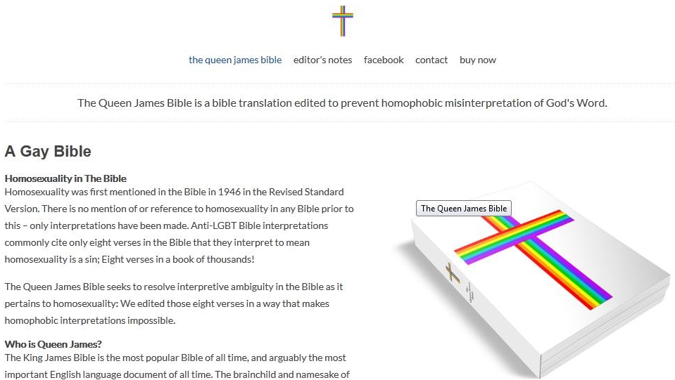 Biblical texts on homosexuality in christianity