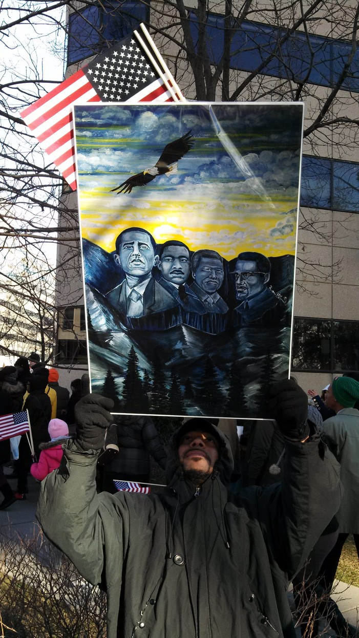 Inaugural Posters Praise Obama as Fulfillment of Prophesy, Call for Bust on Mount Rushmore
