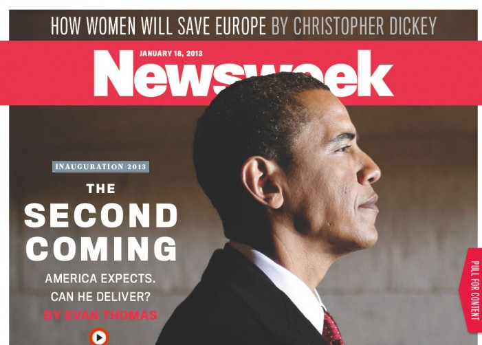 Newsweek Hails Obama as Messianic 'Second Coming'?