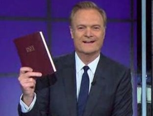 MSNBC Host Lawrence O'Donnell Blasts Use of Bible at Inauguration: 'No One Believes the Bible'