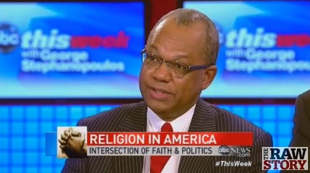Baptist Pastor to ABC: Same-Sex 'Marriage' is an American 'Freedom God Has Given You'