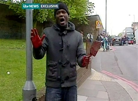 Muslims Shout 'Allah Akbar' While Beheading British Soldier With Meat Cleaver on London Street