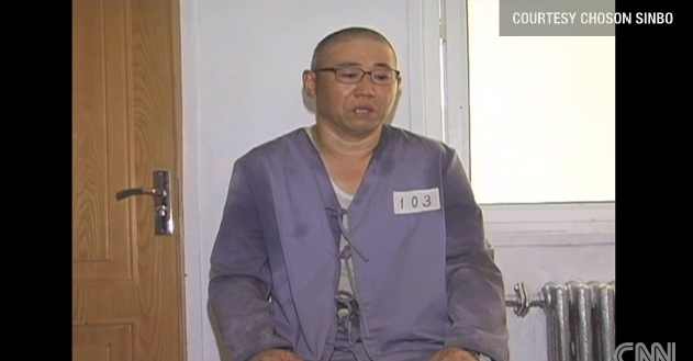 American Christian Serving 15 Years Hard Labor in North Korea Hospitalized