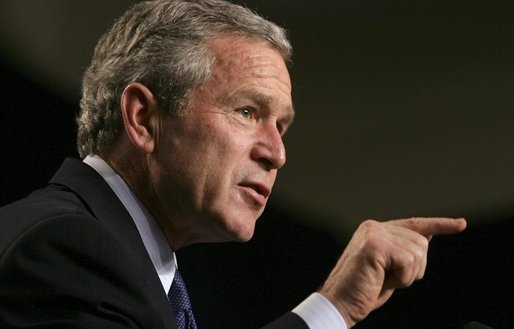 Bush on Homosexuality: 'I Shouldn't Take Speck Out of Someone's Eye When I Have Log in My Own'