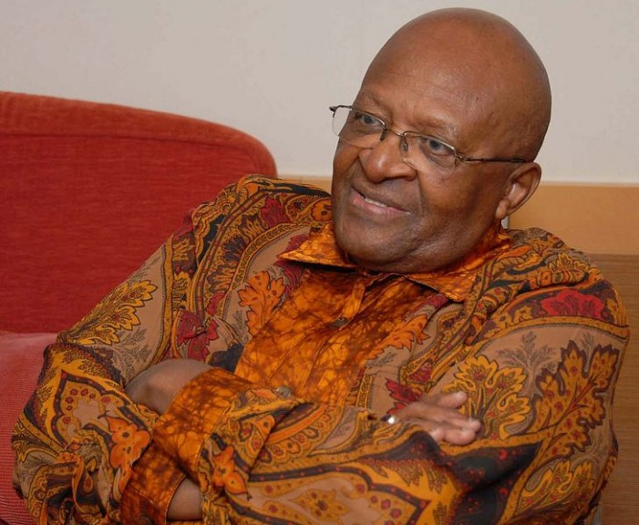 Former 'Archbishop' Desmond Tutu: I Much Rather Prefer to Go to Hell Than a 'Homophobic Heaven'