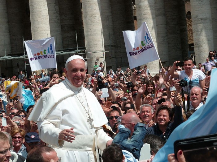 'Pope Francis:' Global Warming a 'Sin,' Man Can Atone by Recycling and 'Car-Pooling'