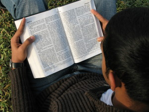 Reading Bible pd