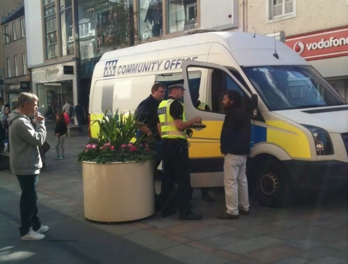 Scottish Street Preacher Arrested For 'Breach of the Peace' Over 'Illegal' Gospel Message