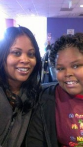 Jahi McMath and her mother Latasha