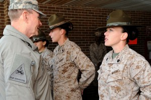 women marines pd