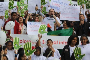 Christians-protest-against-child-sex-exploitation-outside-World-Cup-Stadium-in-Sao-Paulo
