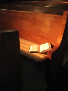 Bible Pew pd