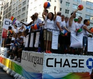 JPMorgan Chase Gay Pride