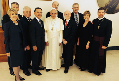 Meeting with the Pope