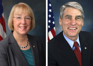 Patty Murray and Mark Udall