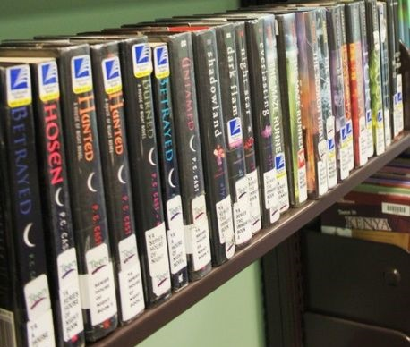Vampire Books in Library