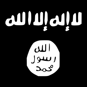 Islamic State flag pd