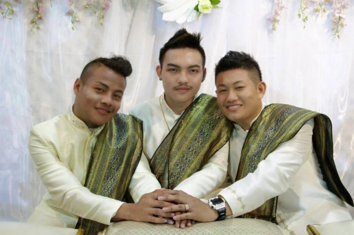 'Love Not Limited?': Three Thailand Men 'Marry' Each Other, Photos Go Viral