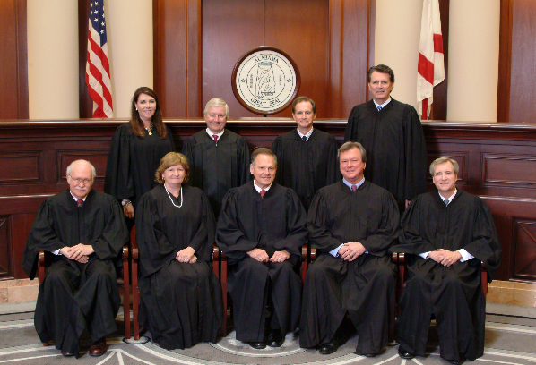Alabama Supreme Court Forbids Judge at Center of 'Gay Marriage' Lawsuit from Issuing Licenses