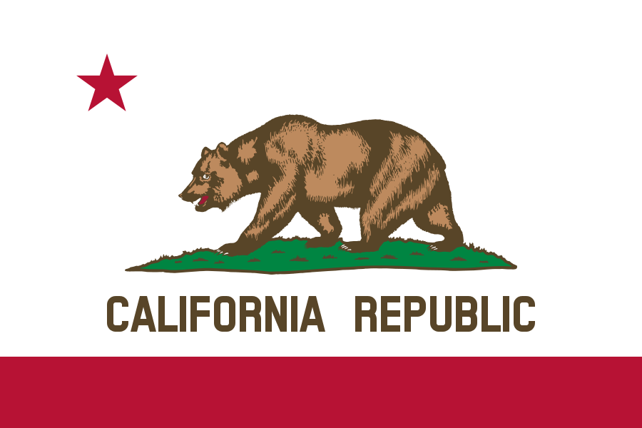 California Flag pd
