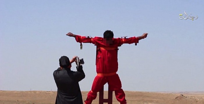 ISIS Crucifies, Hacks Off Limbs of Spy in Accordance with Koran in Barbaric Online Video