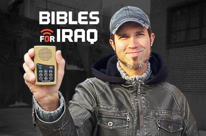Faith Comes By Hearing: Bibles for Iraq to Reach Refugees Displaced by Jihadists with Word of God