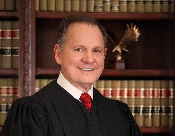 Alabama Supreme Court Affirms Suspension of Chief Justice Roy Moore Over 'Gay Marriage' Memo