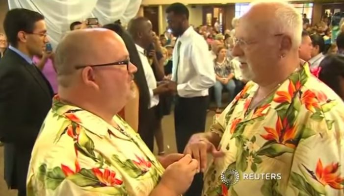 Texas 'Church' Hosts Mass 'Gay Wedding'