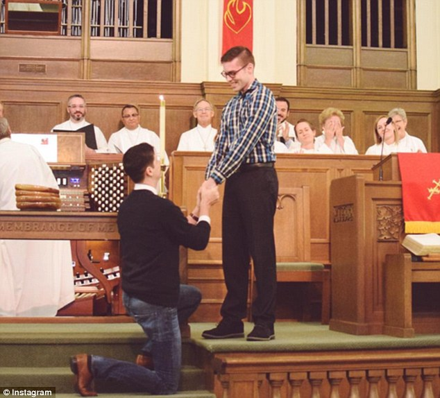 Texas Man Proposes to Another Man in 'Church' Despite United Methodist Ban on Same-Sex 'Marriage'