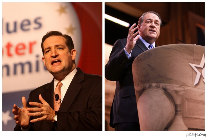 Presidential Hopefuls Ted Cruz, Mike Huckabee Praise 'Pope' as 'Proclaimer of Truth'