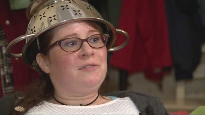 Woman Wins Appeal to Wear Colander on Head in DMV Photo as Part of 'Religion' to Mock Christians