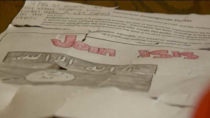 Utah Parents Concerned After Assignment Asks Middle Schoolers to Make ISIS Propaganda Poster