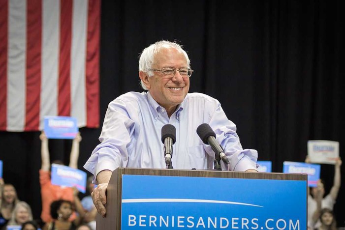 Democratic Presidential Candidate Bernie Sanders Claims Climate Change Causes Terrorism