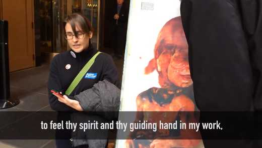 'Thy Guiding Hand in My Work': Abortionist Thanks God While Standing Next to Photo of Dead Baby