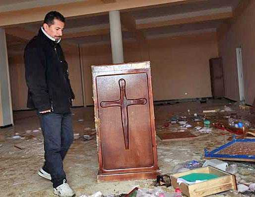 Church Building in Algeria Looted, Vandalized